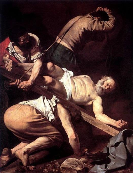 Crucificação de São Pedro - Caravaggio