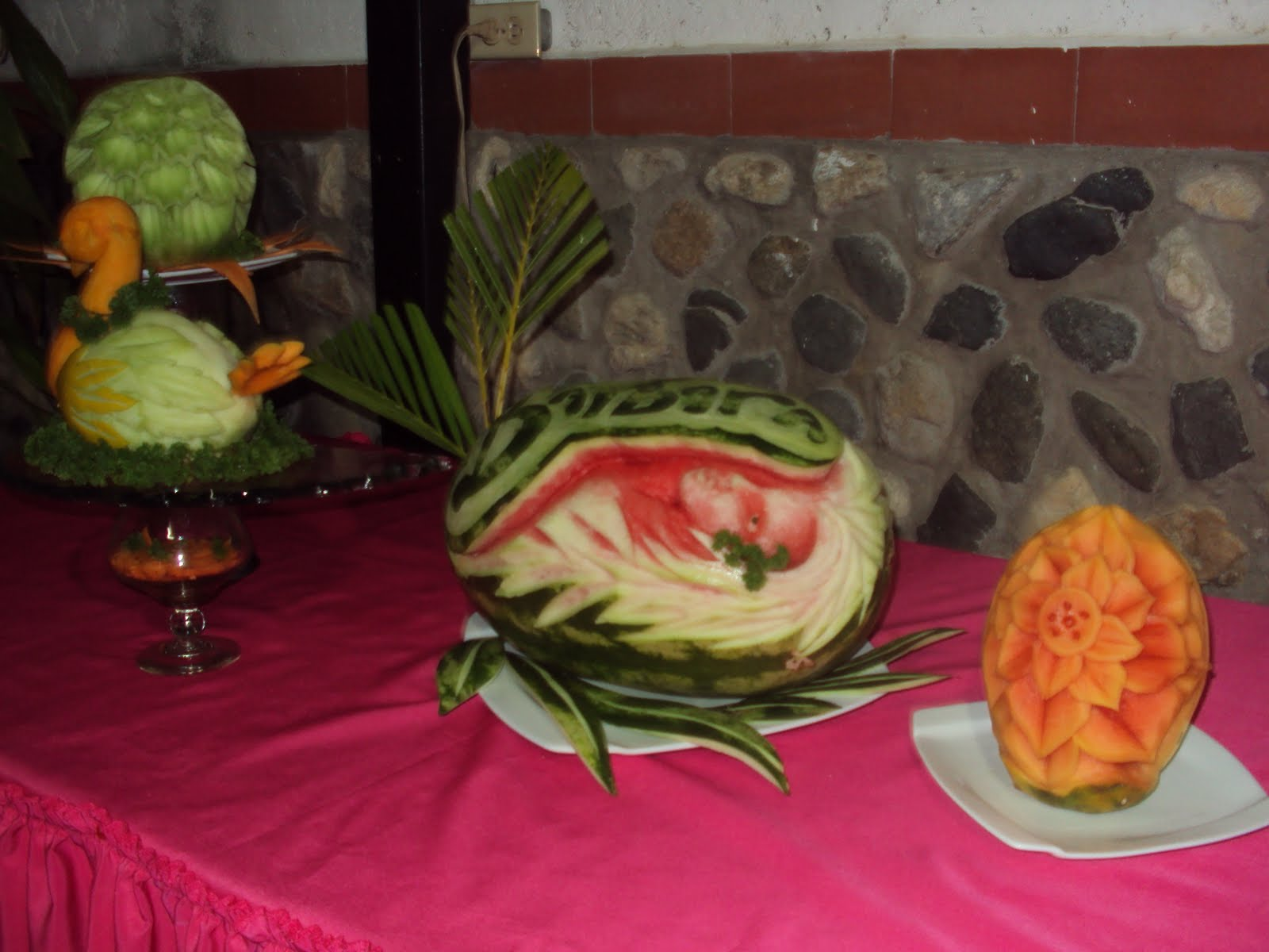 Foolery decoracion con frutas for Secar frutas para decoracion