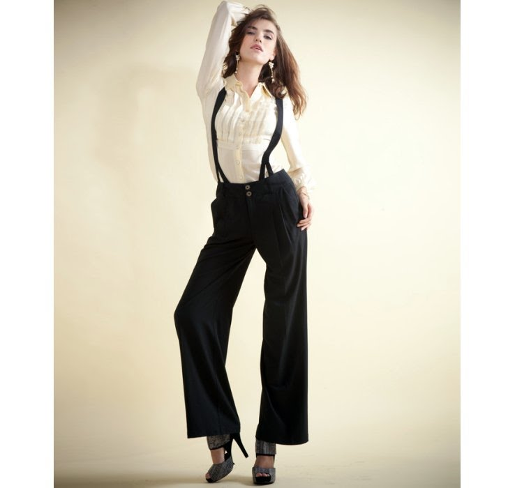 Popular A Suspender Was Mainly Created To Ensure That They Would Hold Up A Mans Pants No Matter How Roomy They Were As They Were Wont To Be In Those Days But When It Comes To Women In Suspenders, Then We Doubt If The Pants Are Going