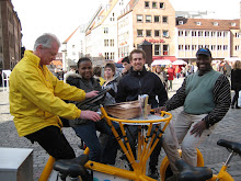 7 person bike in Nuremberg