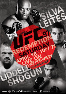 Watch UFC 97 Online Fight Video Live Stream | UFC 97 Redemption Live Poster image