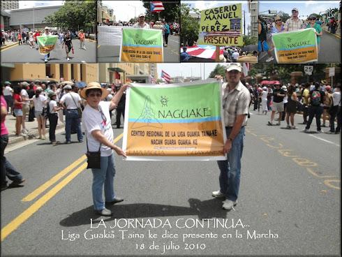 La  Marcha  de  Dignidad  -  18  de  julio San  Juan