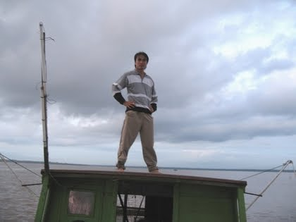 Menunda ikan di laut Lakei (13.03.2007)