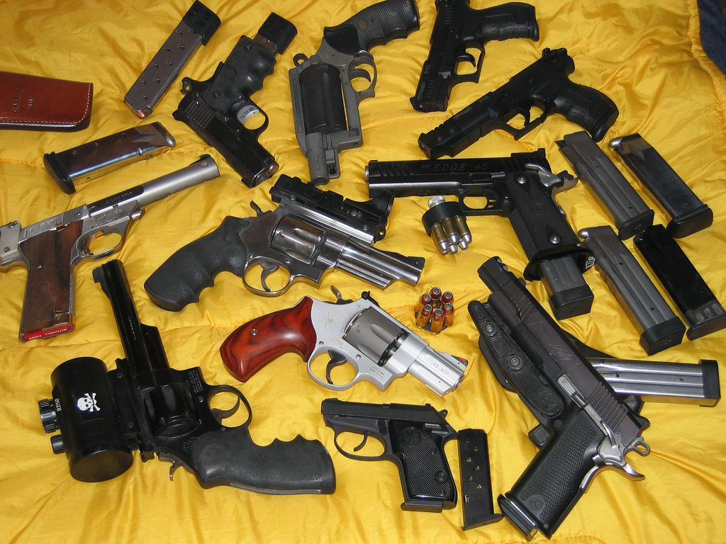 Venda De Armas De Fogo Aumenta No Brasil