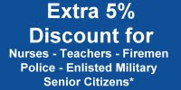 Extra 5 % Discount for