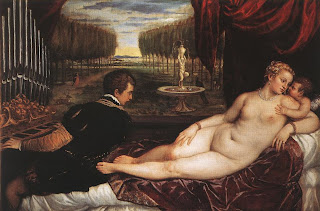 Venus with Organist by Titian