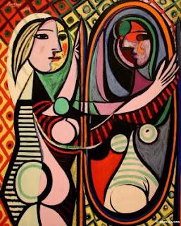 La Femme au Mirroir by Picasso