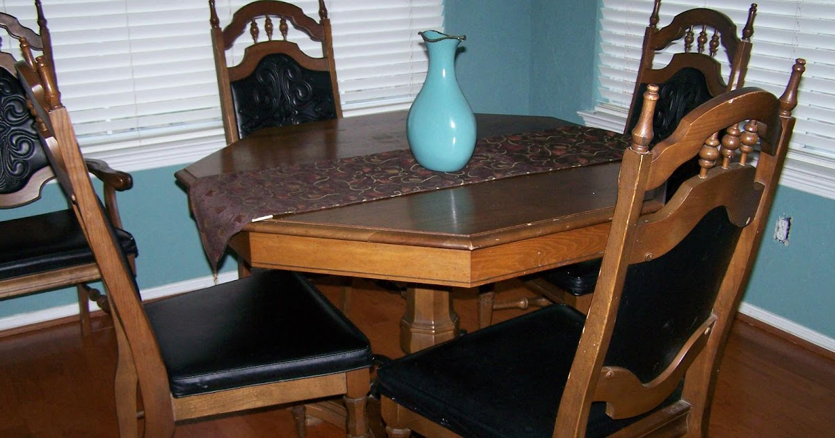 How sweet it is kitchen table redo - Kitchen table redo ...