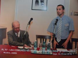 Al XV-lea Congres Naţional de Genealogie şi Heraldică...