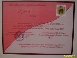 Premiul II la Concursul de reviste şcolare