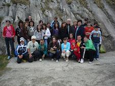 Aspect din excursia în Transilvania- pe muntele Postăvaru ( Poiana Braşov )