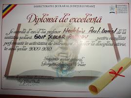 Diploma de excelenţă