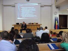 Aspecte din timpul Conferinţei privind  Drepturile Omului, Iaşi, 6 septembrie  2010