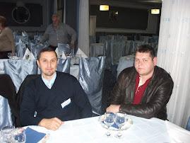 La masă, Grand Hotel Ceahlăul, cu cercet. Silviu Ceauşu, Piatra Neamţ, 20 nov. 2010
