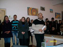 24 ianuarie la Grupul Şcolar Roznov...
