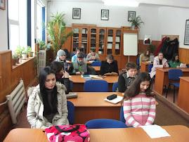 Sala de concurs: Laboratorul de Fizică al Liceului Teoretic