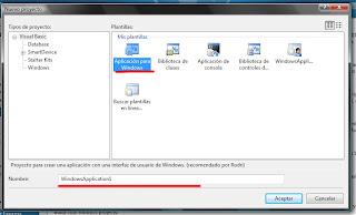 Proyecto en Visual Studio
