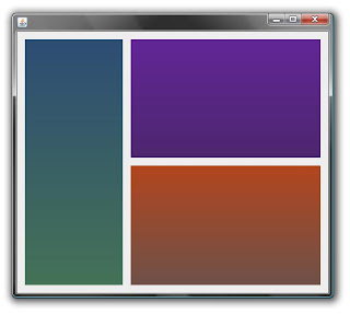 how to change color of panel in java