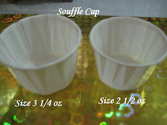 Size Cupcake - souffle cup