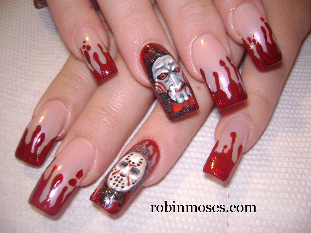 "Robin Moses Nail Art: ""halloween nails"" ""halloween nail art"""