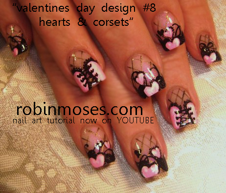 Plytomurli valentines nail designs valentines nail designs prinsesfo Image collections