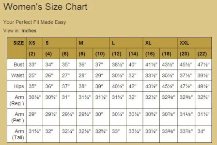 your size???