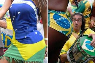 gatas, torcedora, copa 2010, torcida feminina, brasil, mulheres gostosas, sensual