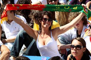 gatas, torcedora, copa 2010, torcida feminina, portugal, mulheres gostosas, sensual