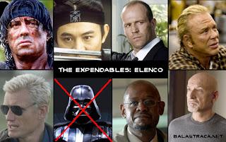 the expendables, os mercenários, darth vader