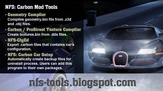 NFS:Carbon ModTools v1.0