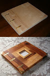 Wood Scrapbook and Photo Albums