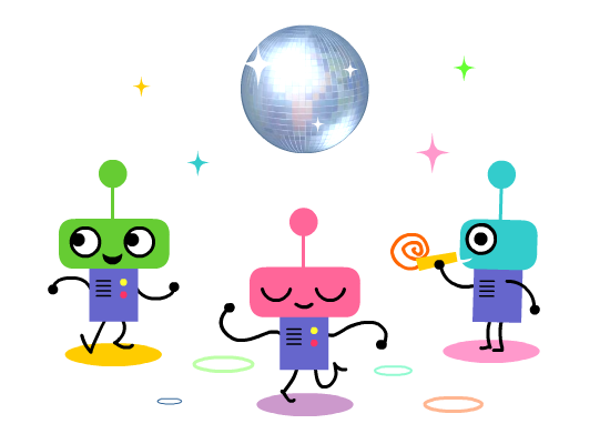 Jinx the Monkey :: Drip!: Little Robots (and animated GIFs!)