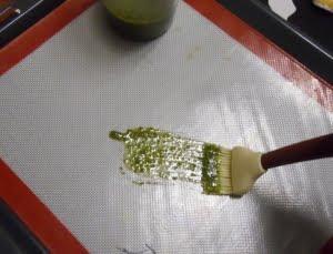 Engrasar la llanda.