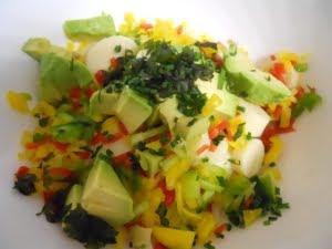 Mezclar los vegetales.