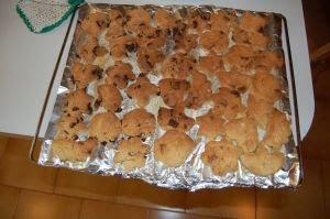 Enfriar las galletas.