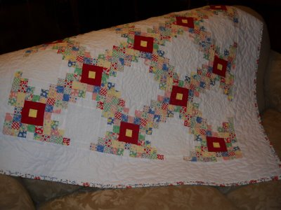 Irish Chain Quilt | Oh Sew Tempting