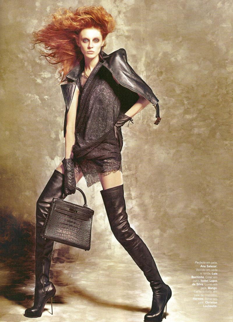 RedPoppy Fashion Olga Sherer For Vogue Portugal September