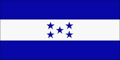Proud Flag of Honduras