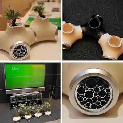 green, sound garden, eco, gadget