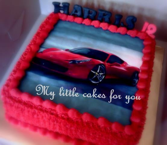 My little cakes for you: Ferrari 2010