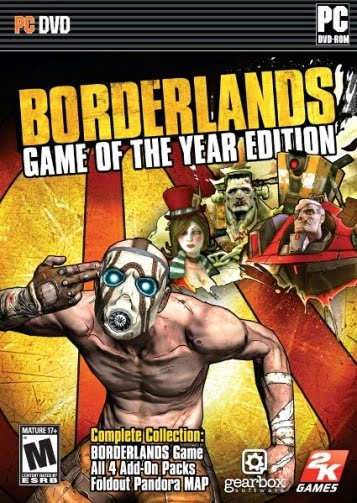 Borderlands Limited Edition Black Box Repack