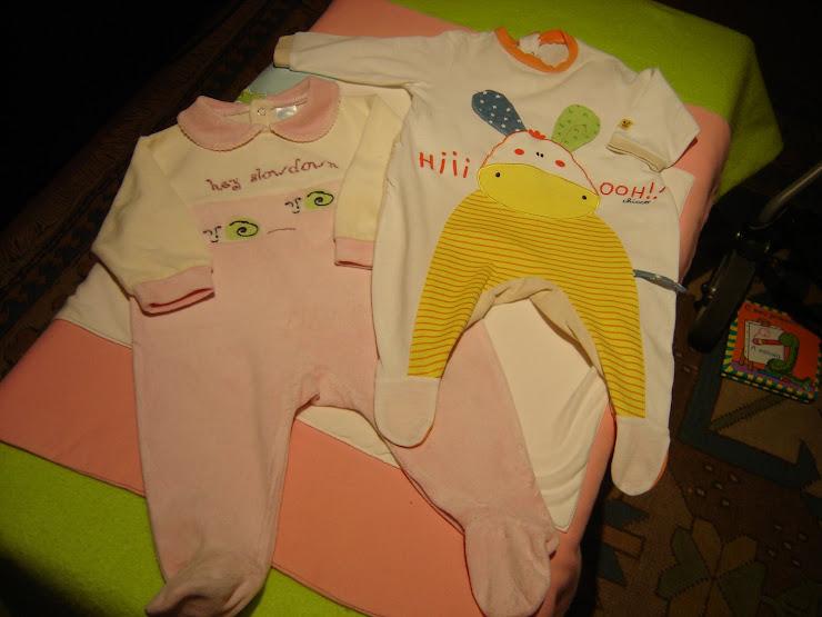 babygrow, 2,50eur cada