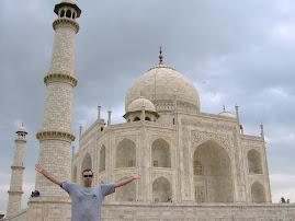 Yo en el Taj Mahal
