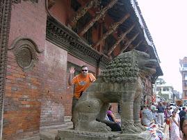 En Kathmandú (Nepal)