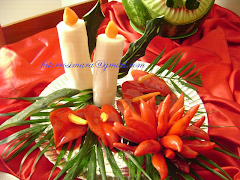 Natal - Arranjo com velas