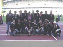 Campeões da 1ª Divisão Distrital de Juvenis - 2007/2008