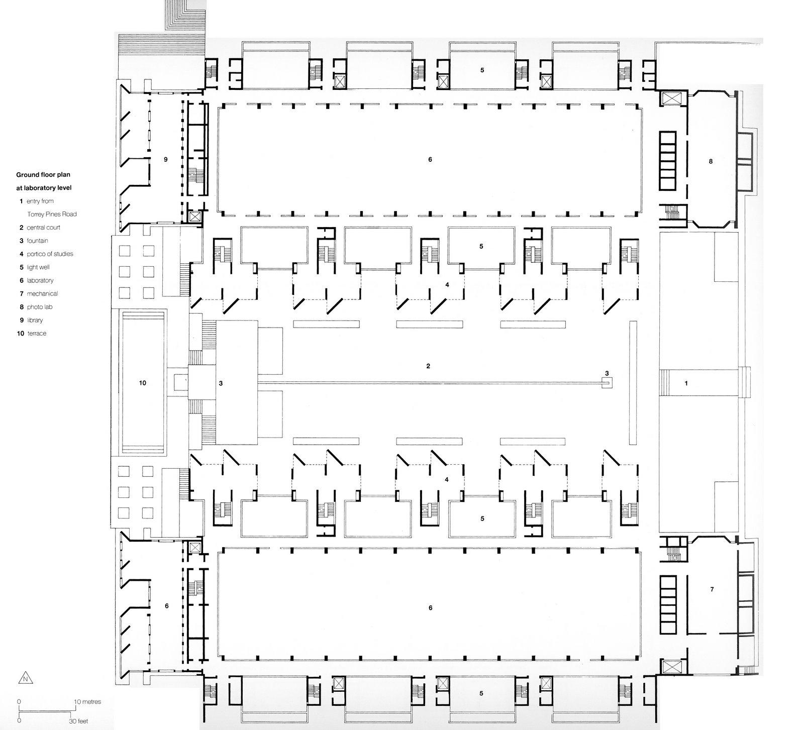 storia dell architettura del 900 1960 1969 salk institute for biological studies salk institute