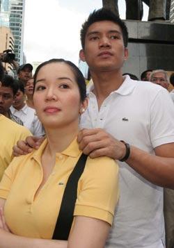 Kris Aquino and James Yap