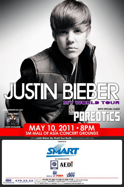 Justin Bieber Live in Manila poster