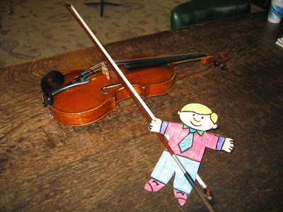 PrivateLessons.com | Flat Stanley Explores Musical Instruments